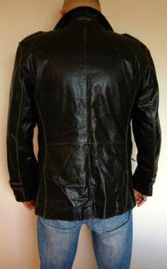 Super Chic und edel: Moderne Lederjacke Tommy Hilfiger XL. Super, Baby Items, Modern, Tommy Hilfiger, Leather Jacket, Fashion Outfits, Stuff To Buy, Jackets, Studded Leather Jacket