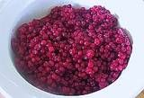 Lingonberries--if you don't know what they are, you're missing out on the tarty yummy goodness.