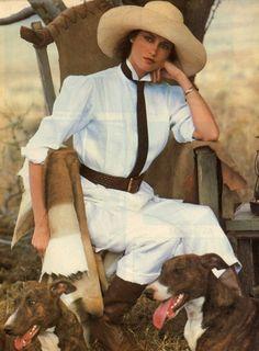 Ralph Lauren Spring 1984 campaign