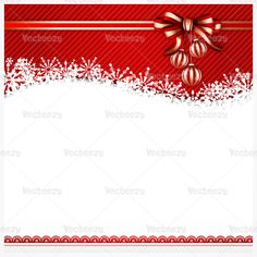 Red bow Christmas background design