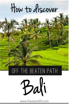 Bali | Indonesia | Bali Travel | Travel Tips | Off The Beaten Track Bali: Avoid the Crowd and Discover Hidden Gems #balitravel #traveltips #baliindonesia #balitips #southeastasia #backpacking #budgetravel