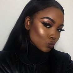 prom makeup for tan skin Beauty Make-up, Beauty Skin, Beauty Hacks, Hair Beauty, Black Beauty, Black Girl Makeup, Girls Makeup, Makeup Black Women, Makeup On Fleek