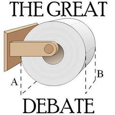 There's no debate. B!