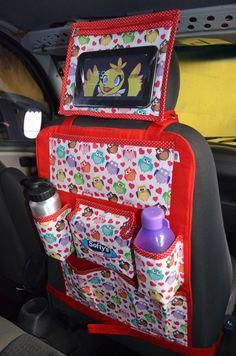 Baby Sewing Projects, Sewing For Kids, Sewing Hacks, Sewing Crafts, Siege Bebe, Car Seat Organizer, Sewing School, Art Corner, Car Storage