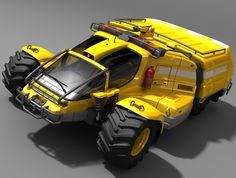 Designer Phil Pauley has come up with a series of Extreme Weather Rescue Vehicles that could navigate through deep floodwaters and around physical obstacles, unlike conventional trucks and emergency vehicles.
