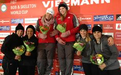 Congratulations to Jamie Greubel '02! Jamie, a member of the US Bobsled Team, earned her first career World Cup medal after racing to the finish for silver!