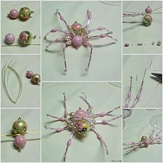 how to bead a spider