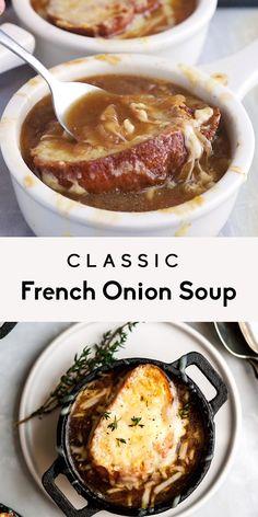 Onion Soup Recipes, Easy Soup Recipes, Dinner Recipes, Healthy Recipes, Irish Recipes, Onion Soups, Irish Desserts, Panera Onion Soup Recipe, Outback French Onion Soup Recipe