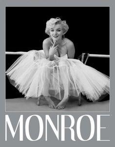Marilyn Monroe - Ballerina Silver Ink Border - Official Mini Poster