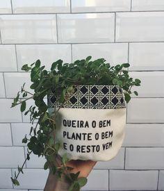 Cachepot Plante o Bem