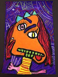 1st Grade Picassos