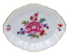 Herend Nanking Bouquet Oval Dish Tray Hungary | eBay