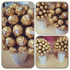 Ferrero Rocher Tree #dessertsart #desserttable #dessert