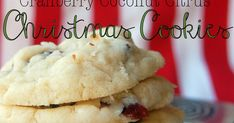 These are my very favorite cookies at Christmas time! They are so light and chewy and perfectly citrus-y. They are also beautiful, with t...