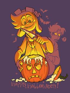 welcometohellfilm: HAPPY (LATE) HALLOWEEN!!I've been really behind on posting my little holiday doodles… better late than never! And the next holiday up is Thanksgiving, which I'm pretty sure was the first holiday doodle I started on. What will I do NOW?? I don't think I reblogged this on my personal yet, haha. Anyway, late halloween post.