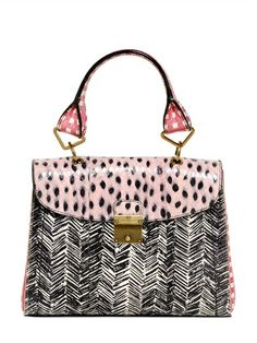 MINI 1984 PRINTED AYERS SHOULDER BAG by Marc Jacobs.   ht