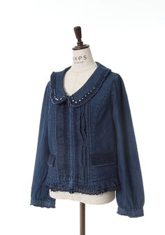 axes femme online shop|襟付デニムブルゾン