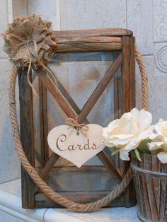 Wooden Lantern Wedding Card Holder Rustic Wedding Lantern Wedding   Nautical Wedding Decor wedding Card Holder Large Wedding Card Holder