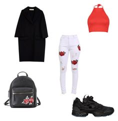 """rose🌹"" by ranbe on Polyvore featuring Mode, Pilot, Boohoo, Reebok, Marni und Charlotte Russe"