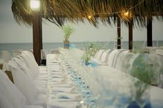 decoración boda romantica playa