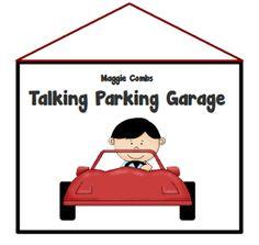 Maggie's talking parking garage - to help when students blurt