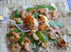 Coconut Milk-Lemongrass Shrimp Recipe from: Created by Cathy Pollak for NoblePig.com  http://noblepig.com/2013/04/coconut-milk-lemongrass-shrimp/