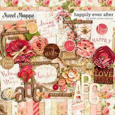 Sweet Shoppe Designs::Shop by DESIGNER::Kristin Cronin-Barrow::Happily Ever After: I Do bundle by Kristin Cronin-Barrow