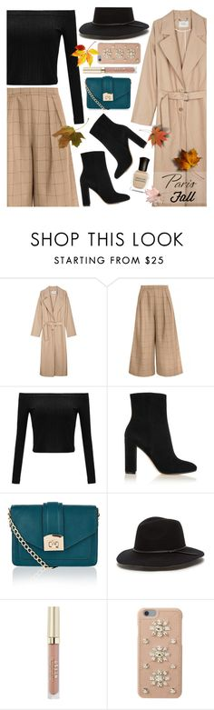 """I Love Paris In The Fall"" by anamarija00 ❤ liked on Polyvore featuring Rachel Comey, Gianvito Rossi, Accessorize, Stila, MICHAEL Michael Kors, Deborah Lippmann, Fall and fallgetaway"