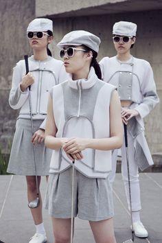 氣韻 Golf collection 2016-17 A/W  Designer:HEFI WU(吳佳樺) Photographer:找象攝影室