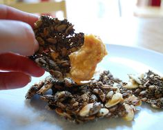 chia sunflower pumpkin seed endurance crackers by Average Moms Wear Capes