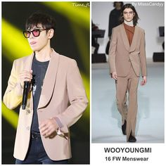 TOP wore Wooyoungmi neutral blazer from the brand's FW menswear collection during Chongqing Fanmeeting #TOPstyle #TOP #choiseunghyun #wooyoungmi #chongqing #fanmeeting #bigbang10 #bigbang #최승현 #빅뱅