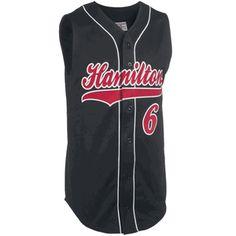 Adult Pinch Hitter Sleeveless Pro Weight Baseball Jersey Team Uniforms 4fb44f920