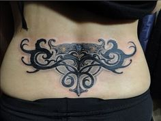 lower back #totem #tattoo