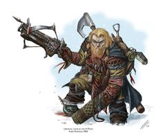another little restyling and some adjustments on an old character inspired by Paizo's Pathfinder Nano 2 Fantasy Character Design, Character Concept, Character Inspiration, Character Art, Fantasy Dwarf, Fantasy Rpg, Fantasy Artwork, Fantasy Races, High Fantasy