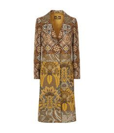 View the Floral Jacquard Long Coat