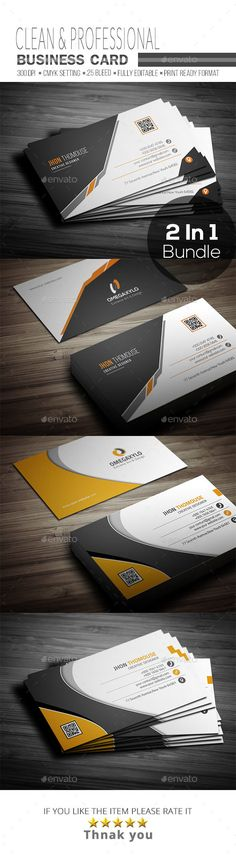 Business Card Bundle ( 2 In 1 ) - Corporate Business Cards Download here : https://graphicriver.net/item/business-card-bundle-2-in-1-/19381396?s_rank=26&ref=Al-fatih