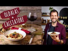 Zé két nagy kedvencét kombinálta - az oldalas ezúttal az olaszok olajbogyós, paradicsomos cacciatore szószában készült el, és tényleg nagyon király lett! Cacciatore, Red Wine, Alcoholic Drinks, Keto, Food, Youtube, Alcoholic Beverages, Meal, Essen