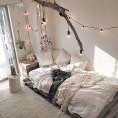 #bedroom #wood #natural
