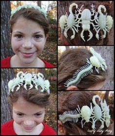 Crafty Lady Abby: HEADWEAR TUTORIAL: Glowing Insects Headband