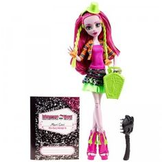 Monster High Monster Exchange Marisol Coxie, the daughter of the South American Bigfoot, joins the other ghouls at Monster High.