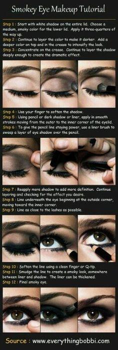 Smoky eye tutorial