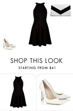 """Untitled #325"" by deamolla ❤ liked on Polyvore featuring New Look, Jimmy Choo and Boohoo"