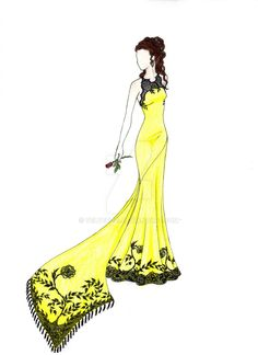 Disney Gone Fashion - Belle by velvet021.deviantart.com on @DeviantArt