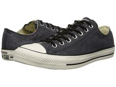 b43b1a046c5c Shoes · Converse Chuck Taylor® All Star® Washed Canvas Ox Black - Zappos.com  Free