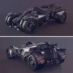 Batman Arkham Knight Batmobile, Batman Car, Dc Comics, New Bat, Batman Cosplay, Batman Wallpaper, Batman Universe, Batman The Dark Knight, Expedition Vehicle