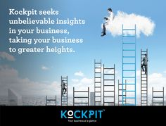 Take your business to soaring heights with #Kockpit.  #businessintelligence #CEO #complexdata #bigdata