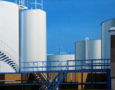 Edmund Lewandowski - Petrol Terminal No.2 (1986)