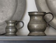 pewter measures -picked up the identical one at a porch sale in NJ some 38 yrs ago.