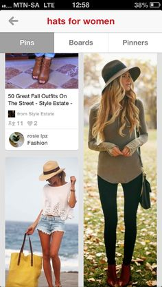 Boho big hat style  & also like style of top