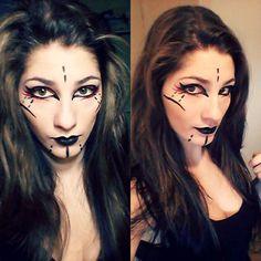 Hello followers! :D //En// Today a little Sith makeup test for fun //Fr// Aujourd'hui petit makeup sith juste pour le fun :P